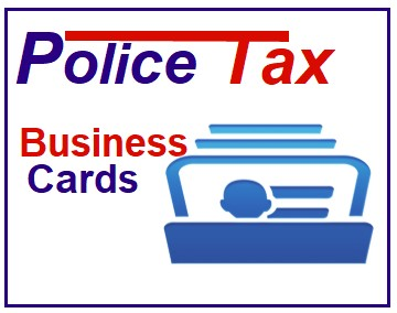 Police E-Business Card